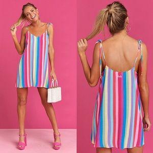 SMYM x Barbie •Throw & Go Tie Dress, Ken's Crayons